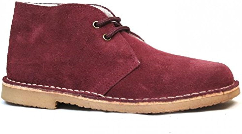 Botas Safari Burdeos Borreguito  Zapatos de moda en línea Obtenga el mejor descuento de venta caliente-Descuento más grande