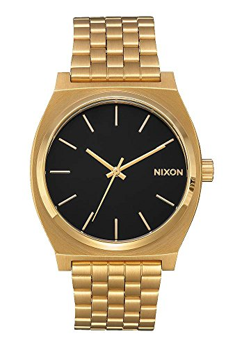 nixon-time-teller-37mm-gold-orologio-unisex