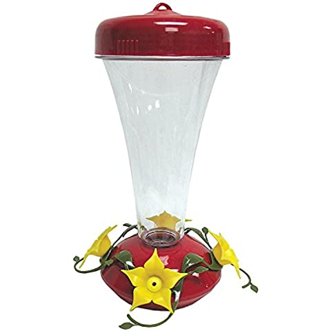Perky Pet pp122tf Colibrì Top Riempire Aster Feeder - Hummingbird Feeder Ant Moat