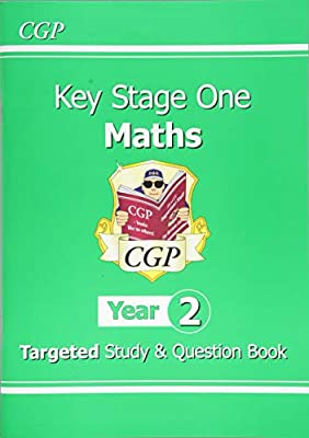 KS1 Maths Targeted Study & Question Book - Year 2 (CGP KS1 Maths) from Coordination Group Publications Ltd (CGP)
