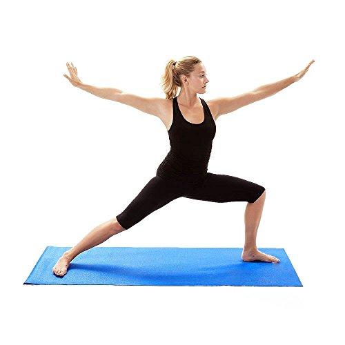 Gymnastikmatte 180 x 51 x 0,8cm blau