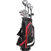 MacGregor Golf 2018para hombre CG2000Juego completo de paquete–Negro/Rojo