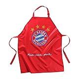 FC Bayern München Grillschürze, Kochschürze, Schürze Mia san mia FCB - plus gratis Aufkleber forever München