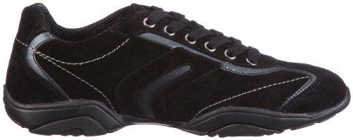 Geox D Arrow F, Sneakers Basses Femme Noir (Schwarz)