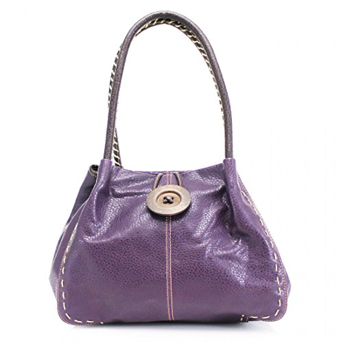 Craze london, Borsa a spalla donna Purple