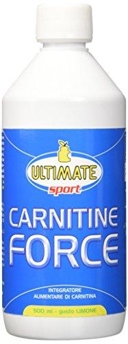 Ultimate Italia L-Carnitina in Forma Liquida - 500 ml