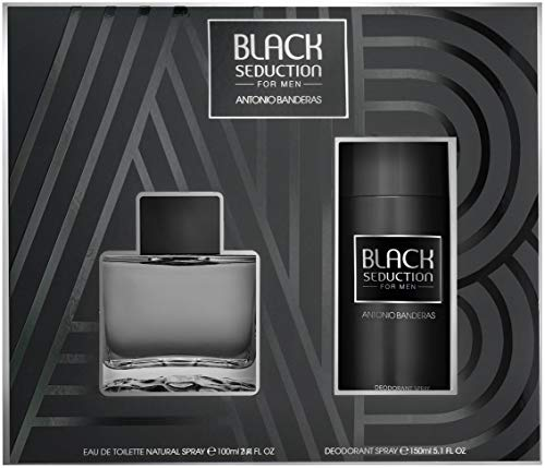 Preisvergleich Produktbild set antonio banderas black seduction for men edt 50ml + asb 50ml