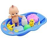 Goodkid Baby Badespielzeug Set,Badewanne Bad Spielzeug Wasserspielzeug Baby Wasserspielzeug Badespaß Spielzeug Dusche Spielzeug Schwimmende Toy Wasserspiel füR Kinder