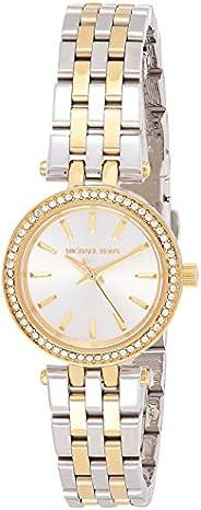 Michael Kors Womens Quartz Watch, Analog Display and Stainless Steel Strap MK3323