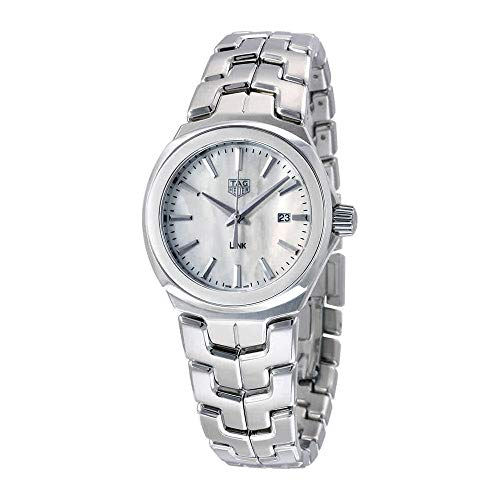 TAG Heuer Women's Link 32mm Steel Bracelet & Case Quartz Watch...