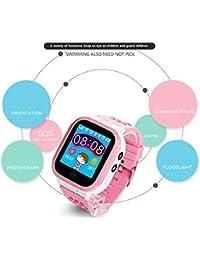 GUIGSI Reloj Inteligente para niños, Juego Reloj Inteligente de niños Reloj Inteligente para niños con