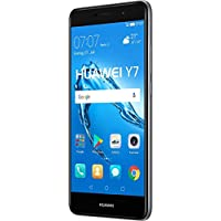 "Huawei Y7 SIM doble 4G 16GB Negro, Gris - Smartphone (14 cm (5.5""), 1280 x 720 Pixeles, Plana, 16:9, Multi-touch, Capacitiva)"