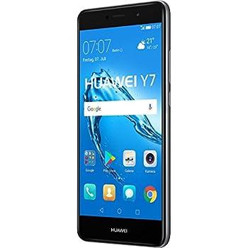 "Huawei Y7 SIM doble 4G 16GB Negro, Gris - Smartphone (14 cm (5.5""), 1280 x 720 Pixeles, Plana, 16:9, Multi-touch, Capacitiva)"