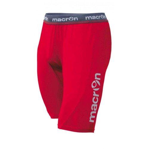 Bermuda Scaldamuscoli Macron QUINCE Sliding Short Rosso taglia S