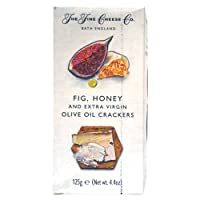 The Fine Cheese Crackers with Fig and Extra Virgin Olive Oil, 125 GMS