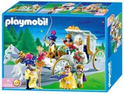 Playmobil Princess 4258 Carruaje Nupcial - Carruaje Principes - New and sealed