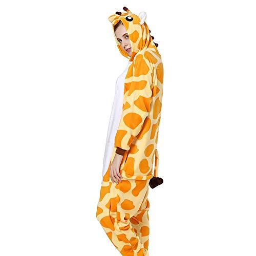 sene Männer Frauen Unisex Schlafanzug Cosplay Halloween Home Casual Kostüm Stück Pyjamas Outfit Baumwolle Bademantel Verdickung Pyjamas,M ()