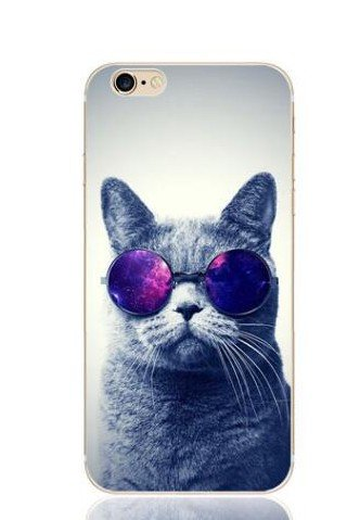 FancyCase Schutzhülle für iPhone 6/iPhone 6S, Cool Style, TPU Schutzhülle für iPhone 6/iPhone 6S von Fancy Case, Cool Cat