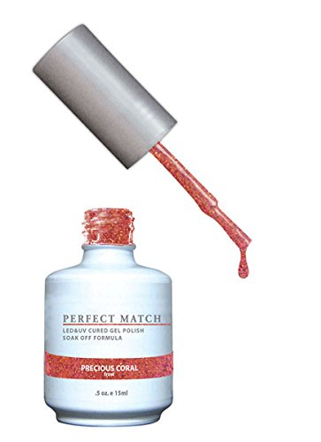 LECHAT Perfect Match Nail Polish, Precious Coral, 0.500 Ounce by LECHAT