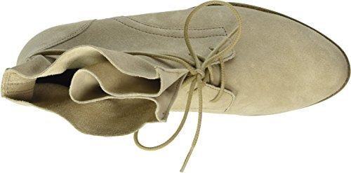 Gabor Shoes 51.661 Damen Kurzschaft Stiefel Beige (silk 12)