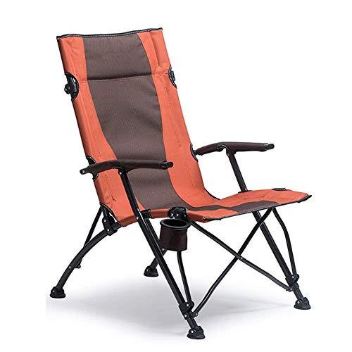 CCDZDM Übergroße Camping Chair Heavy Duty Quad Stuhl Für Erwachsene, Folding Deluxe Mit Getränkehalter, Unterstützung 150Kg -