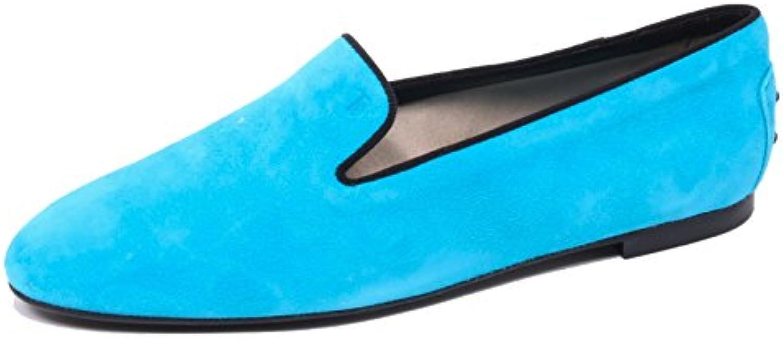 B4502 mocassino donna TOD'S scarpa pantofola turchese scarpe loafer woman woman woman | Louis, in dettaglio  4e330d
