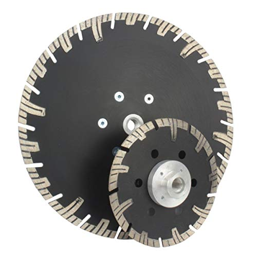 230 mm Diamantscheibe Diamanttrennscheibe Trennscheibe mit Flansch M 14