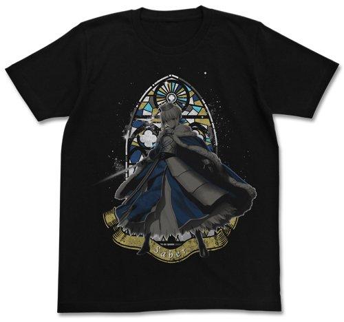 fate-grand-order-altria-pendragon-t-shirt-black-l-size