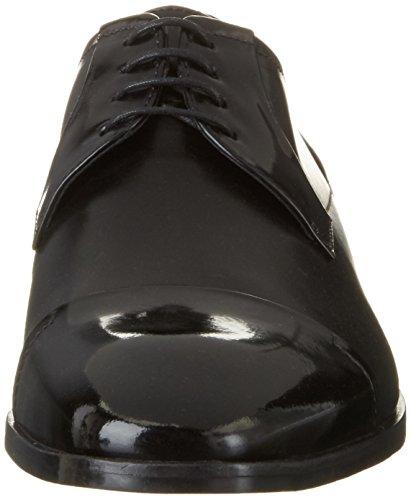 Hugo Square_derb_boct 10197223 01, Derby Homme Noir (Black)