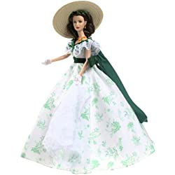 Barbie Coleccionables, Timeless Treasures Series: Scarlett O'Hara Gone with The Wind Bar – B – Que Doll