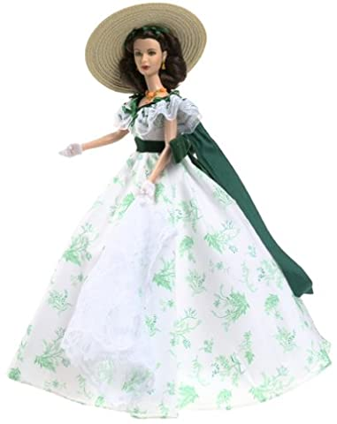 Barbie Collectables, Timeless Treasures Series: Scarlett O'Hara Gone with The Wind Bar - B - Que