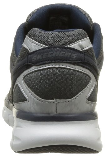 Skechers Synergy Power Shield, Chaussures de sports en salle homme Gris (Ccnv)