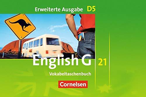 English G 21 - Erweiterte Ausgabe D: Band 5: 9. Schuljahr - Vokabeltaschenbuch