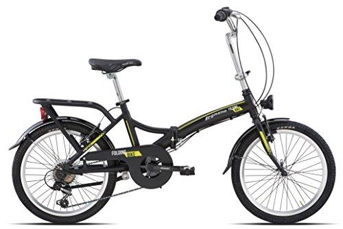 Ciclo 800 Folding Bicicletta 20 Uomo Nero