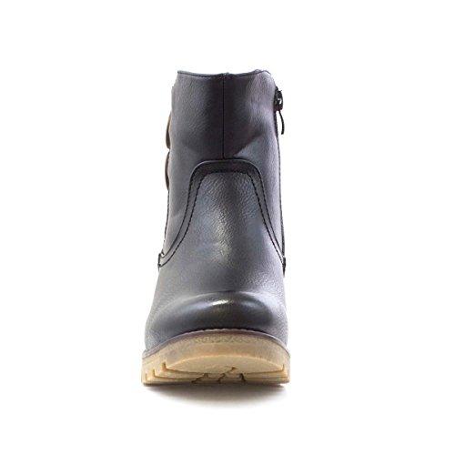 Heavenly Feet - Femme - Bottines Noires Noir