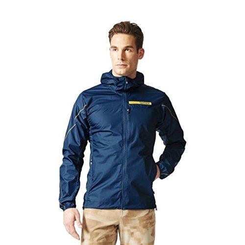 adidas Herren Funktions TX Agravic Hybrid Softshell Jacket Funktionsjacke blau 48