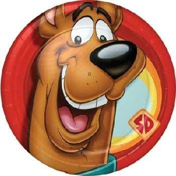 Scooby-Doo! 'Close-Ups' Large Paper Plates (8ct)