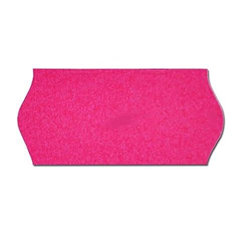 26 x 12mm CT4etiquettes rose (pink) pour etiqueteuse prix 10