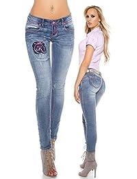 Amazon.fr   KouCla - Jeans   Femme   Vêtements 899e890e079
