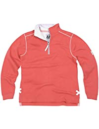 Lazy Jacks Ladies Quarter Zip Plain Sweatshirts