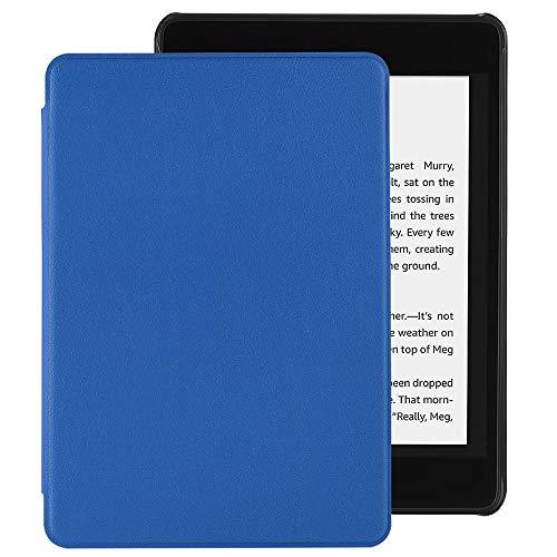 EasyAcc Hülle für Kindle Paperwhite 2018 10. Generation, Ultra Dünn Smartshell Case mit Auto Sleep/Wake up Funktion Kompatibel für Modelle der Kindle Paperwhite (10. Generation – 2018) - Marineblau