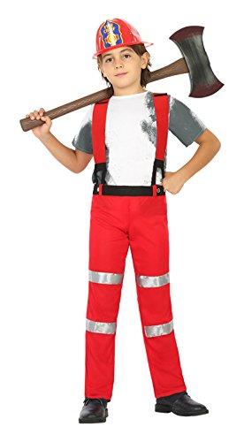 Imagen de atosa 20430–disfraz de bombero, niño, tamaño 116