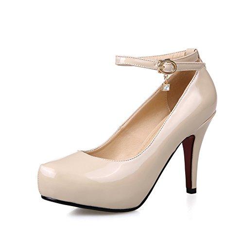 Adee, Zapatos De Tacón Alto De Albaricoque Para Mujer