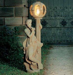 Leuchte Aussenlampe Laterne aus Betonwerkstein Wandleuchte Gartenleuchten