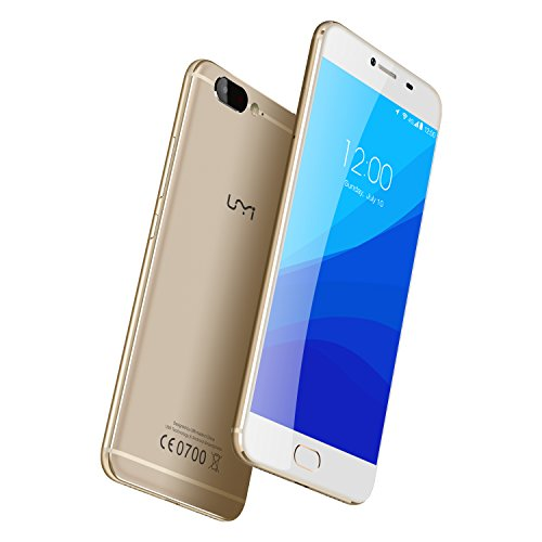 UMIDIGI-Z-Smartphone-Libre-Android-Pantalla-55-4G-LTE-Doble-SIM-Deca-core-Helio-X27-CPU-26Ghz-4GB-Ram-32GB-Rom-Android-60-Actualizacin-Android-70-Cmara-de-13-MP-Sensor-de-huellas-dactilares-de-contact