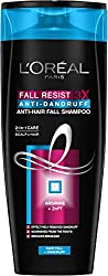LOreal Paris Fall Resist 3X Anti-Dandruff Anti-Hair Fall Shampoo, 360ml