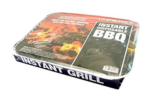 41ZCNit6rdL - SmashingDealsDirect Einweg-Grill - schneller und einfacher Grill, bereit zum Kochen in 20 Minuten - Mini BBQ Grill