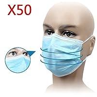 50Stk Einwegmasken Mundschutzmaske Mundschutz Masken Einmal 9cmx17.5cm preisvergleich bei billige-tabletten.eu