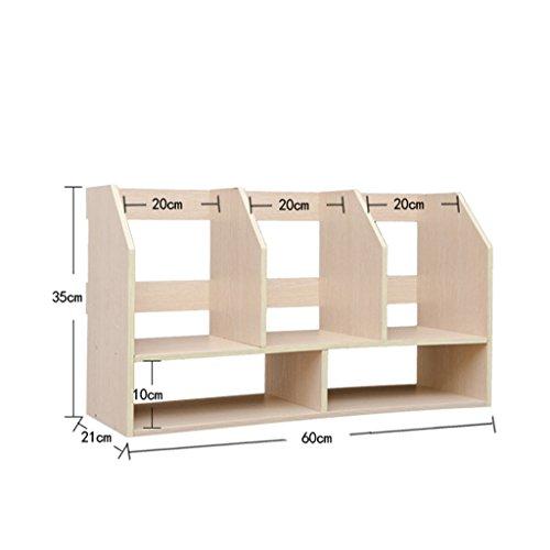 DFHHG® Bookshelf Libro Stand 60 (largo) * 21 (anchura) * 35 (alto) durable