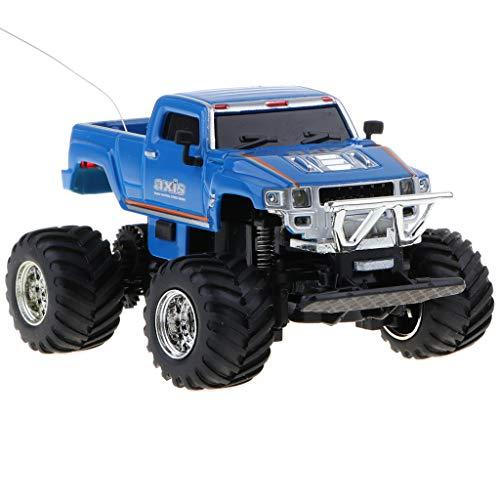 Ferngesteuerte Monster Truck RC Crawler Fahrzeug Elektronische Auto Spielzeug für Kinder Kleinkind Junge - Dunkelblau ()